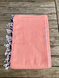 Large Turkish Towel - Apricot