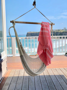 Turkish Towel - Coral