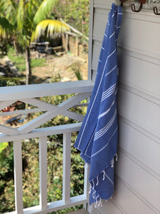 Turkish Towel - Blue