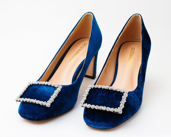 Elite Blue | Pumps | Low heels | Dech barrouci