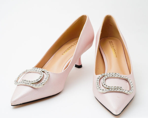 Glitz Pink | Pumps | Low heels | Dech barrouci
