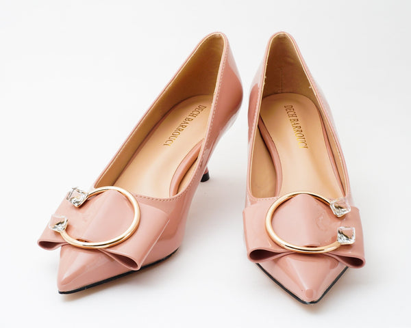 Lush Pink | Pumps | Low heels | Dech barrouci