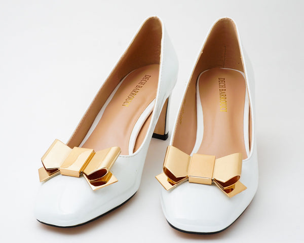 Wicked White | Pumps | Low heels | Dech barrouci