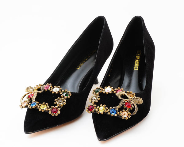 Kohinoor Black | Pumps | Low heels | Dech barrouci