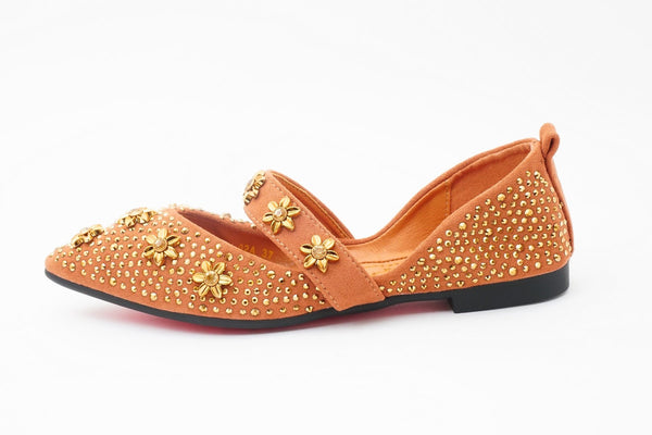 Thrill Brown | Flats | Slip-ons | Dech barrouci - DECH BARROUCI