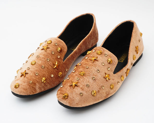Glam Brown | Flats | Loafer | Slip-ons | Dech barrouci