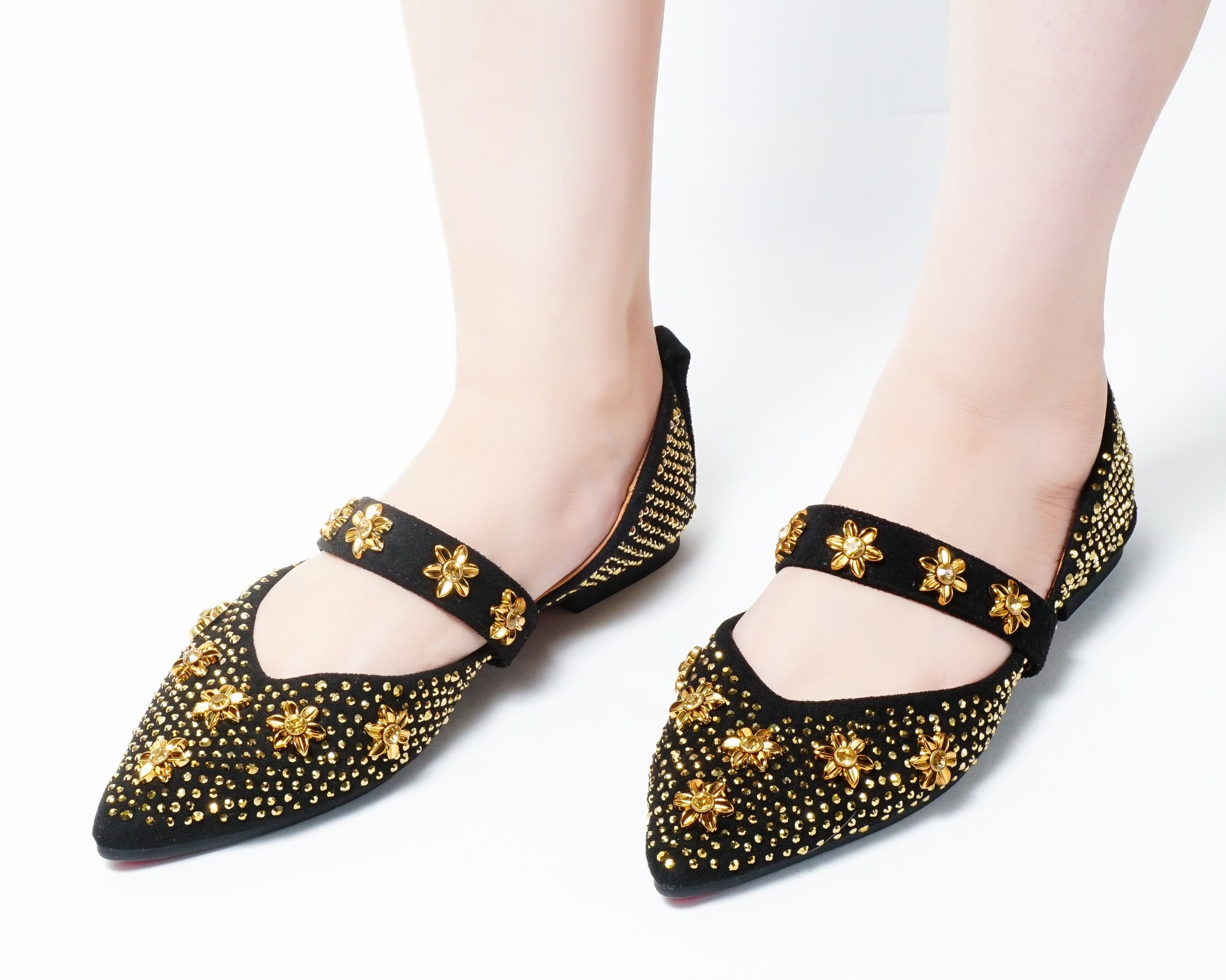 Thrill Black | Flats | Slip-ons | Dech barrouci