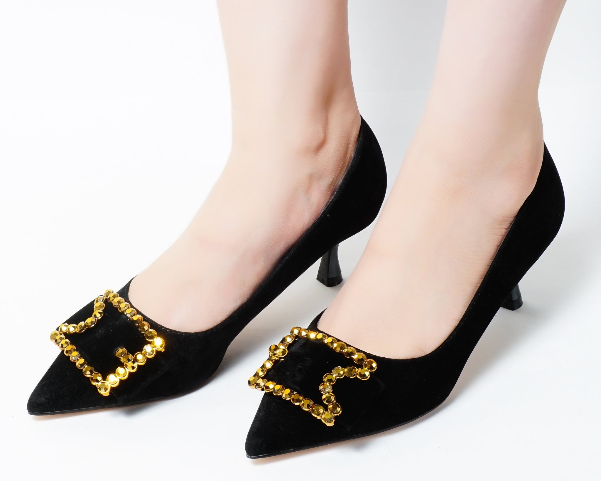 Ikon Black | Pumps | Low heels | Dech barrouci