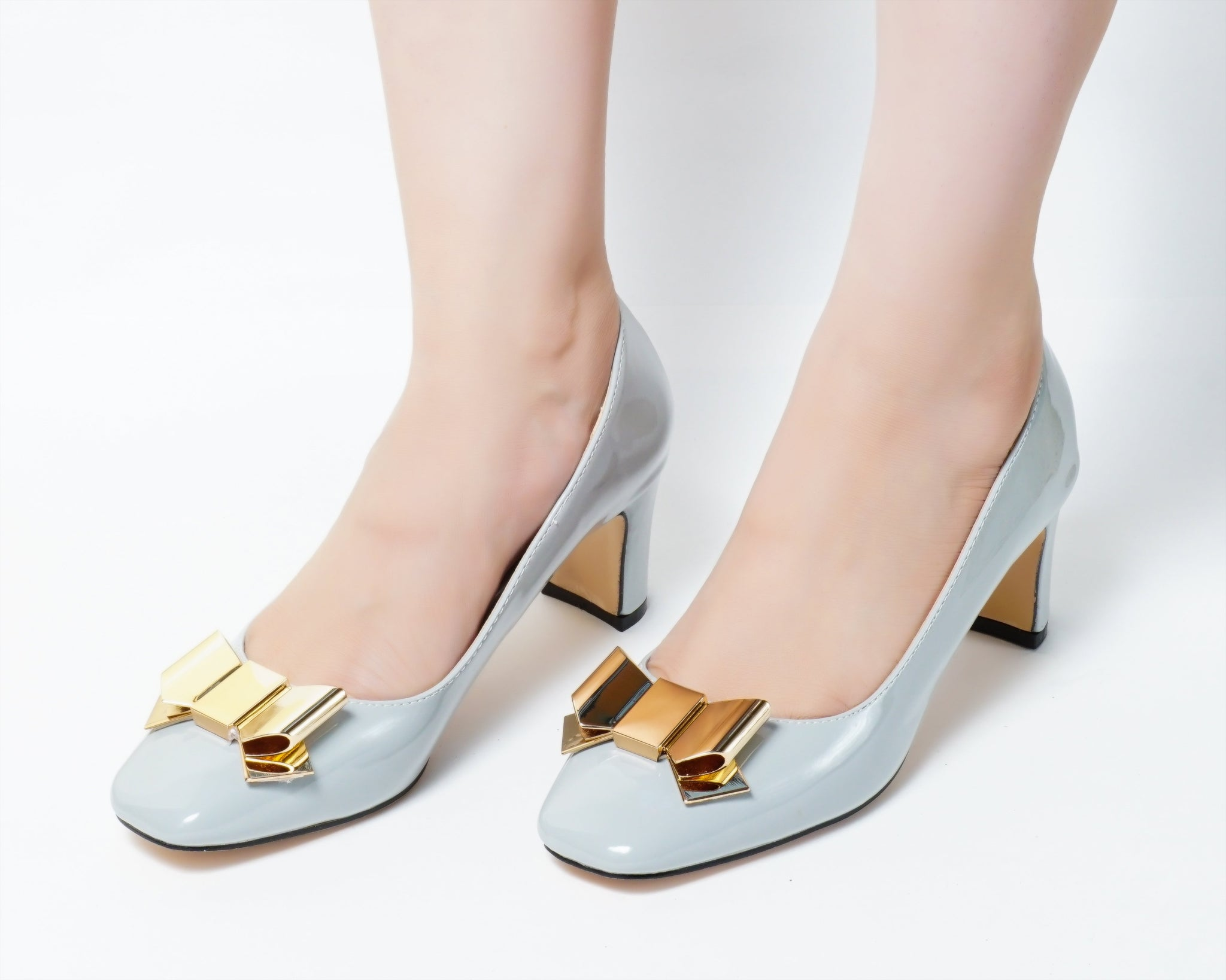 Wicked Grey | Pumps | Low heels | Dech barrouci