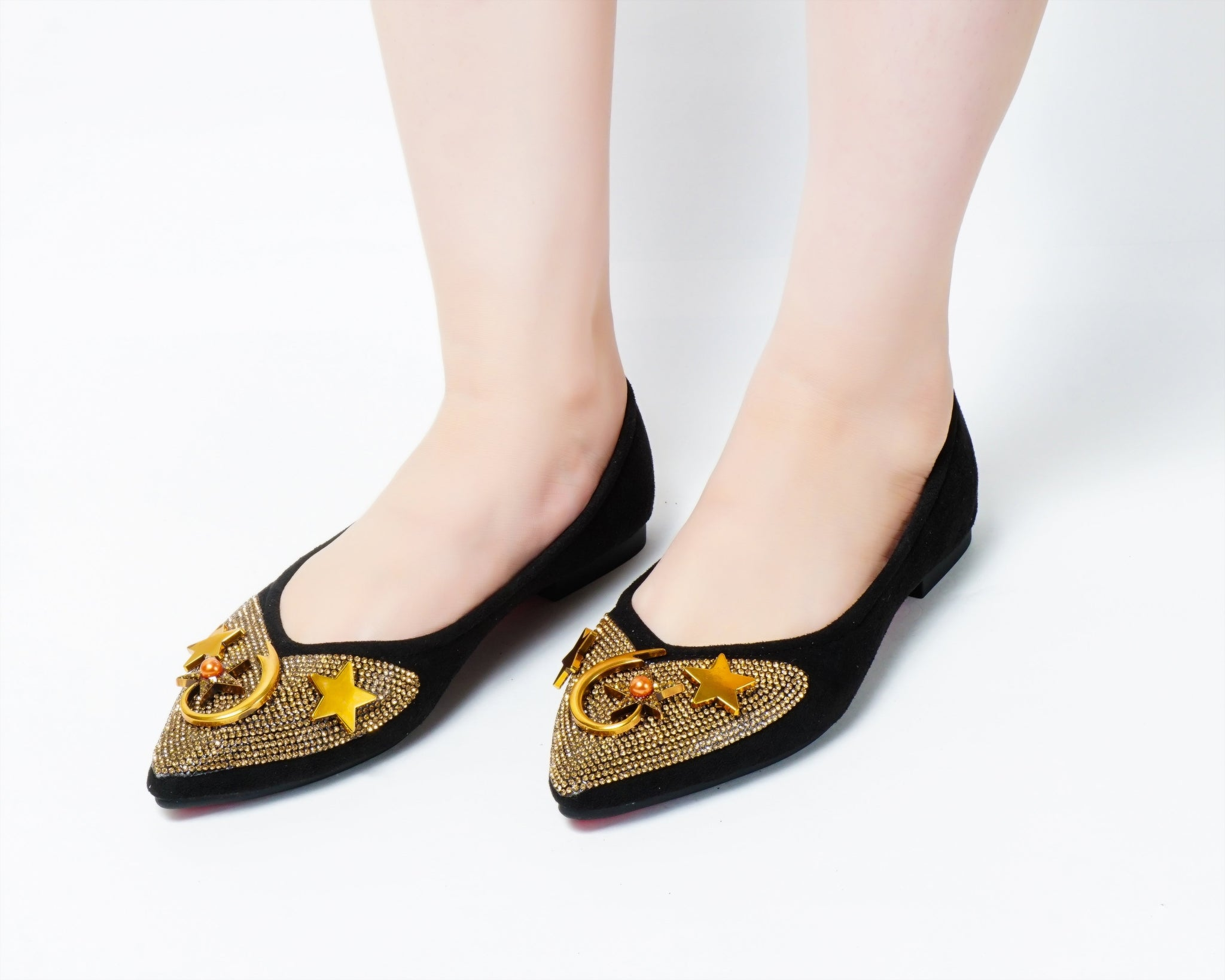 Moon Black | Flats | Loafer | Slip-ons | Dech barrouci