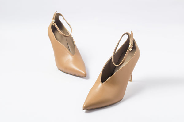 Mod Tan | Pumps | High Heels | Dech Barrouci - DECH BARROUCI