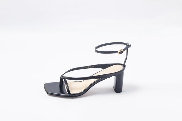 Slick Black | Sandals | High Heels | Dech Barrouci