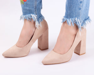 Classic Block Heel | Pumps | Bellies | High Heels | Dech Barrouci