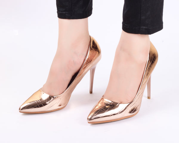 Glory Champagne | Pumps | Bellies | High Heels | Dech Barrouci