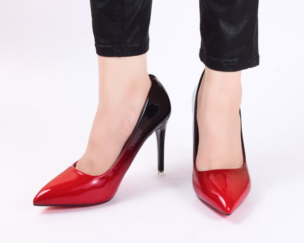 Red Ombre | Pumps | Bellies | High Heels | Dech Barrouci