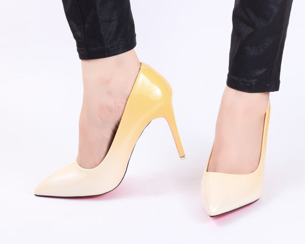 Lemon Ombre | Pumps | Bellies | High Heels | Dech Barrouci