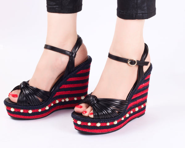 Class Red | Wedge Heels| High Heels | Dech Barrouci