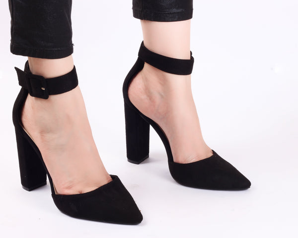 Electrik Black | Sandals | High Heels | Dech Barrouci