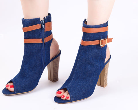 Denim | Sandals | High Heels | Dech Barrouci - DECH BARROUCI