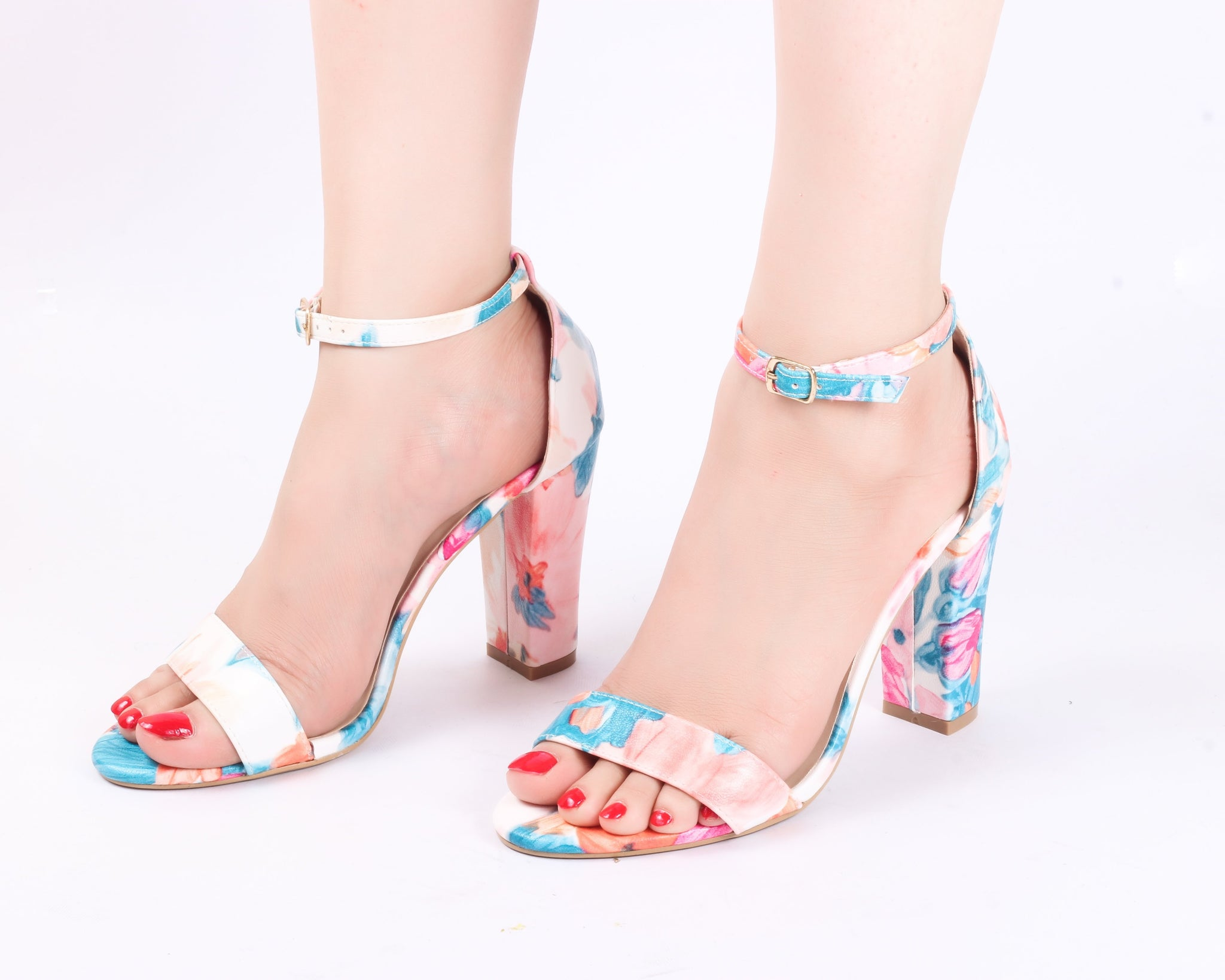 Colorful | Sandals | High Heels | Dech Barrouci