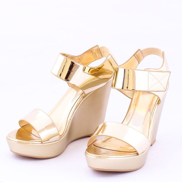 Stun Gold | Wedge Heels| High Heels | Dech Barrouci