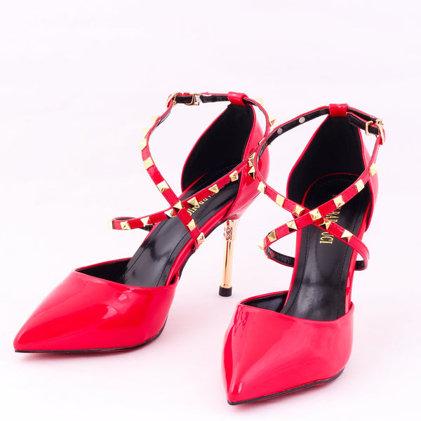 Cross Red | Pumps | Bellies | High Heels | Dech Barrouci
