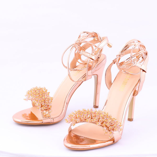 Grace Champagne | Sandals | High Heels | Dech Barrouci