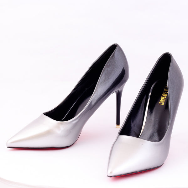 Silver Ombre | Pumps | Bellies | High Heels | Dech Barrouci