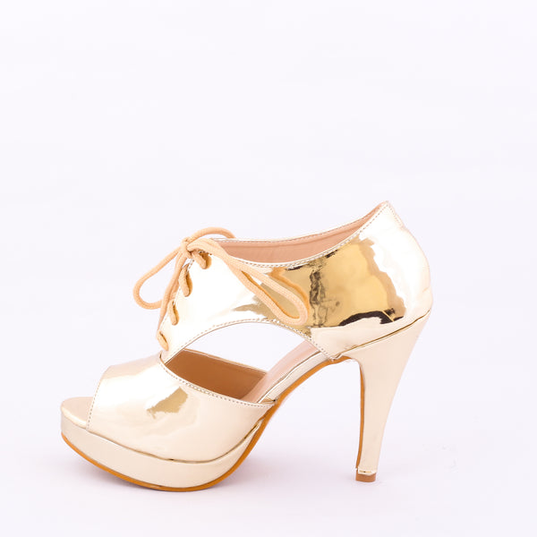 Metallic Gold | Sandals | High Heels | Dech Barrouci