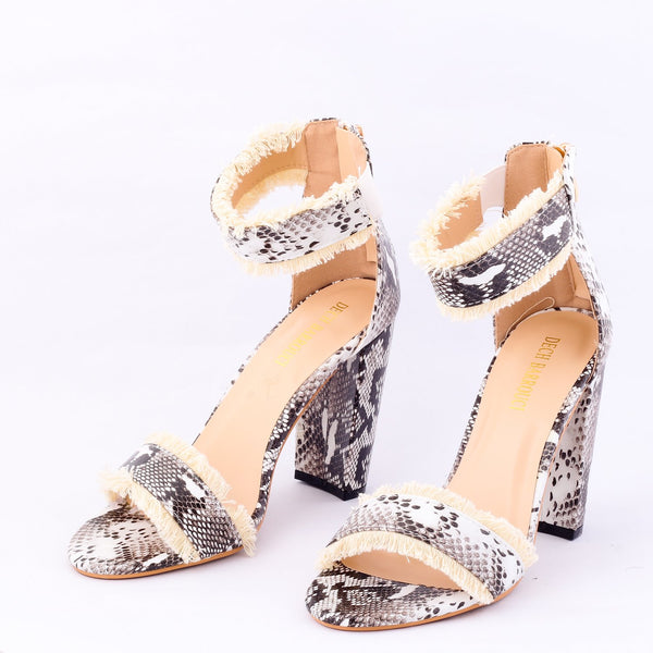 Cobra | Sandals | High Heels | Dech Barrouci