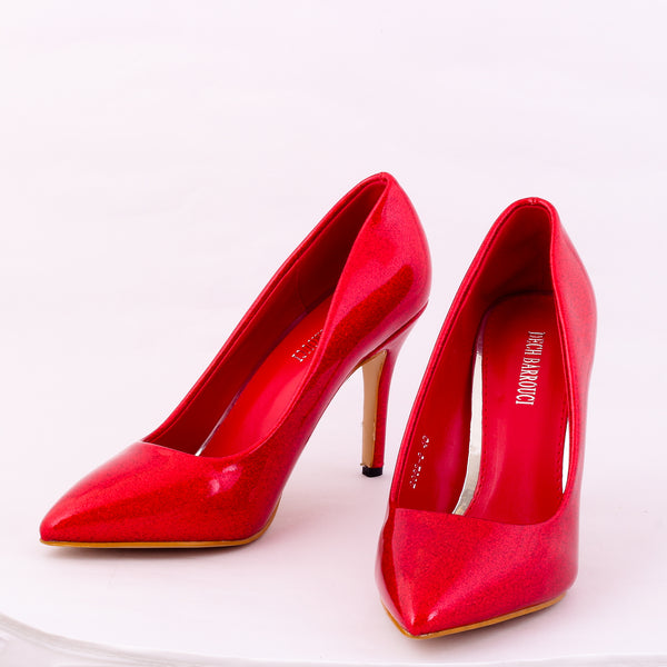 Tinkle Red | Pumps | Bellies | High Heels | Dech Barrouci