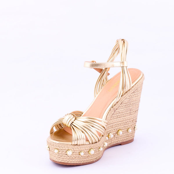 Class Gold | Wedge Heels| High Heels | Dech Barrouci