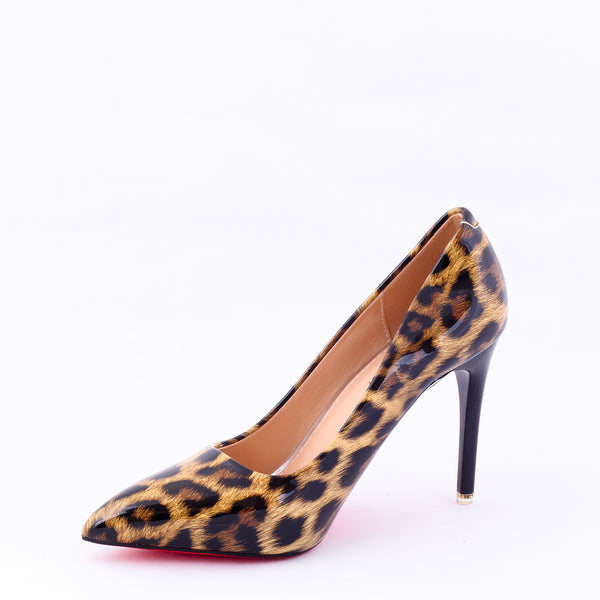 Panther Yellow | Pumps | Bellies | High Heels | Dech Barrouci