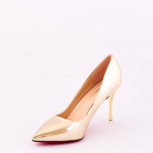 Desire Gold | Pumps | Bellies | High Heels | Dech Barrouci