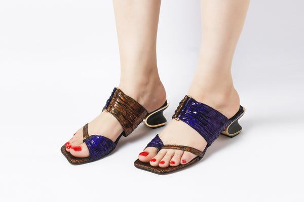 Posh Purple | Sandals | High Heels | Dech Barrouci - DECH BARROUCI