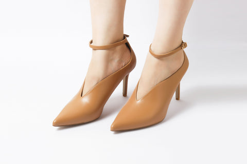 Mod Tan | Pumps | High Heels | Dech Barrouci