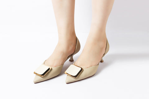 Trend Nude | Pumps | Low heels | Dech barrouci