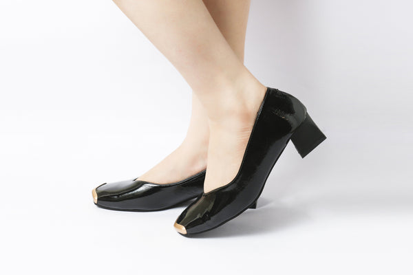 Edge Black | Pumps | Low heels | Dech barrouci