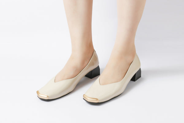 Edge Nude | Pumps | Low heels | Dech barrouci