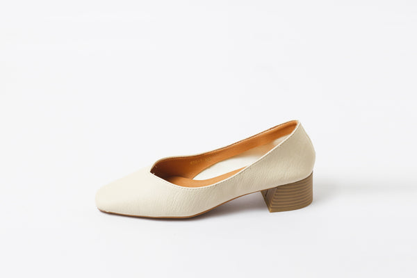 Summer Splash White | Pumps | Low heels | Dech barrouci - DECH BARROUCI