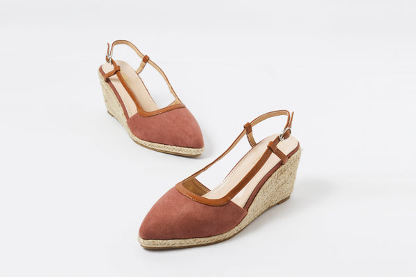 Treat Pink | Wedge Heels | High Heels | Dech Barrouci - DECH BARROUCI