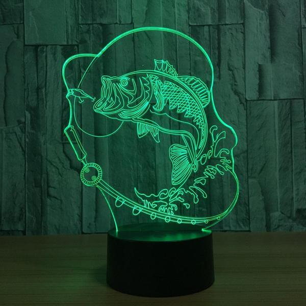 Fishing Lamp Art