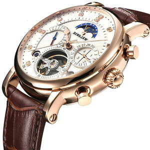 2017 Men's Full-Automatic Mechanical Tourbillon Watch