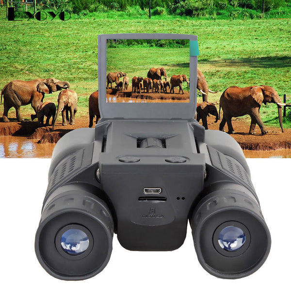 HD 720P 12X32 ZOOM DIGITAL BINOCULARS GADGET