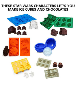 Star Wars Ice  Cube Tray and Chocolate Mould