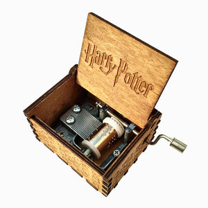 Engraved Wooden Music Box Harry Potter - Limited Edition