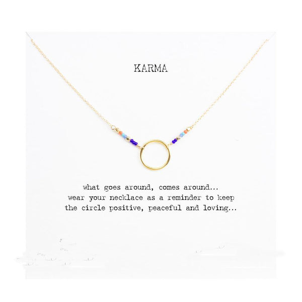 Yoga Karma Necklace - Free + Shipping