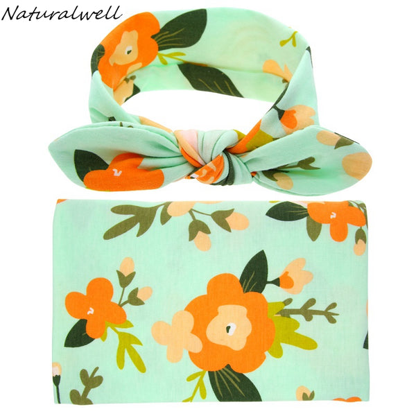 Baby Cotton Swaddle Set