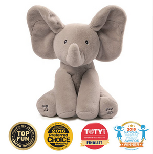 NEW Peek-A-Boo Elephant Plush Toy for Baby