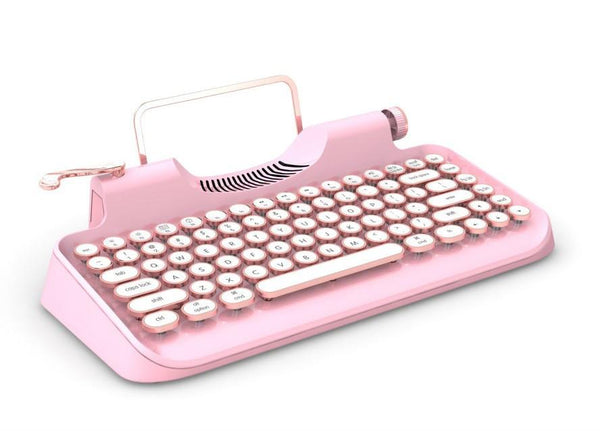 Bluetooth Retro Keyboard for iPad/Macbook/Windows/Android